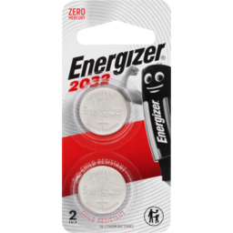 Photo of Energizer Batteries Lithium 2032 3v 2pk