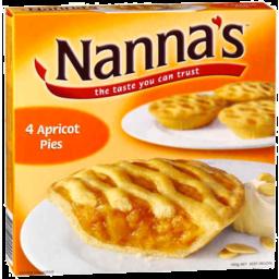 Photo of Nannas Apricot Pies 4pk 450gm