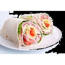 Photo of Vilis Ham Cheese & Salad Wrap 160g