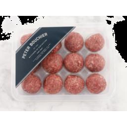Photo of Gourmet Beef Meatballs