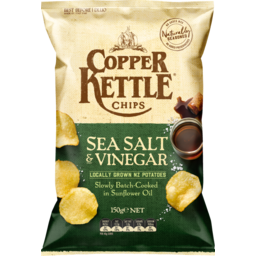 Photo of Copper Kettle Chips Sea Salt & Vinegar 150g