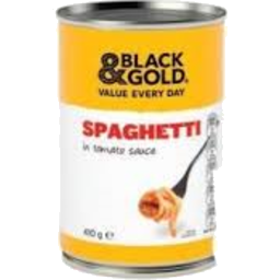 Photo of  Black And Gold Spaghetti Tomato Sauce 410gm