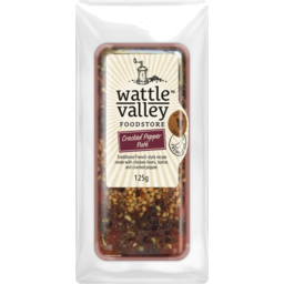 Photo of Wattle Valley Pate Cracked Pepper 125g