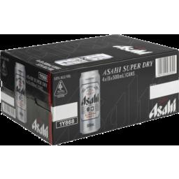 Photo of Asahi Super Dry Can 500ml 24 Pack