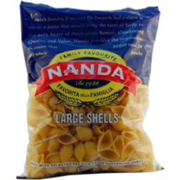 Photo of Nanda Pasta Large Shells No82 500g