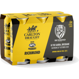 Photo of Carlton Draught Richmond Cans 2020