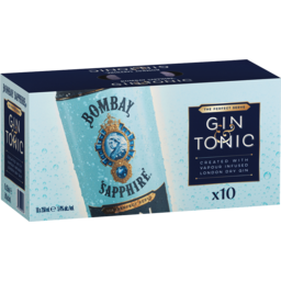 Photo of Bombay Sapphire Gin & Tonic 5.4% Cans