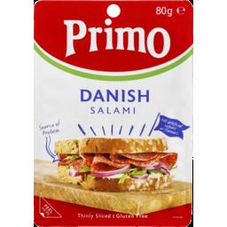 Photo of Primo Salami Dansh Thin Slice 80gm