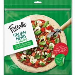 Photo of Farrahs Wraps Italian Herb 6 Pack