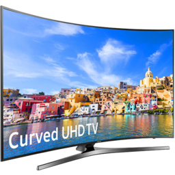 "Photo of 55"" Curved Samsung 4k Uhd Tv"