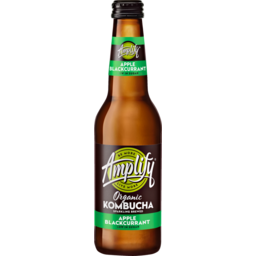 Photo of Amplify Kombucha Apple Blackcurrant 330ml Glass