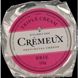 Photo of Cremeux Triple Cream Brie Kg