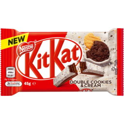 Photo of Nestle Kit Kat Chocolate Double Cookies & Cream 45gm