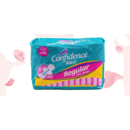 Photo of Confidence Sanitary Napkin Reg With Wings