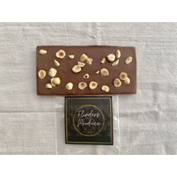 Photo of Flinders Produce  - Milk Chocolate & Hazelnut Bar 100g