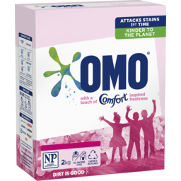 Photo of Omo Touch Of Comfort Laundry Powder 2Kg