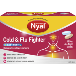 Photo of Nyal Cold & Flu Fighter Day & Night 24pk