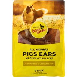 Photo of Bow Wow Treats Pigs Ears 5 Pack