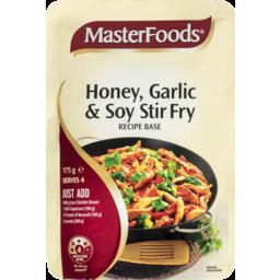Photo of Masterfoods Stir Fry Honey Garlic & Soy Recipe Base 175g