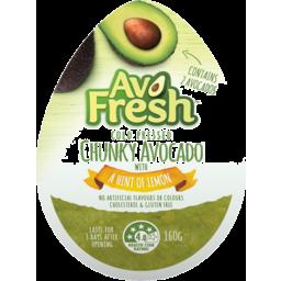 Photo of Avo Fresh Chunky Avocado With A Hint Of Lemon Tub 160g