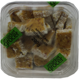 Photo of The Market Grocer Apricot & Coconut Slice 200gm