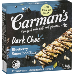 Photo of Carmans Muesli Bars Dark Chocolate 210g