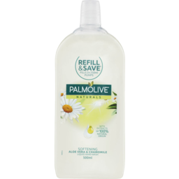 Photo of Palmolive Naturals Liquid Hand Wash Softening Aloe Vera With Camomile Refill 500