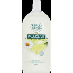 Photo of Palmolive Naturals Aloe Vera & Chamomile Liquid Hand Wash 500ml Refill