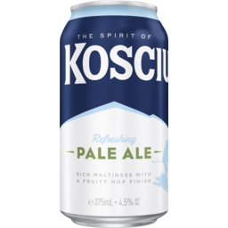 Photo of Kosciuszko Pale Ale Can