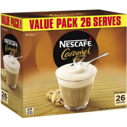 Photo of Nescafe Coffee Mixes Caramel 26pk 17g