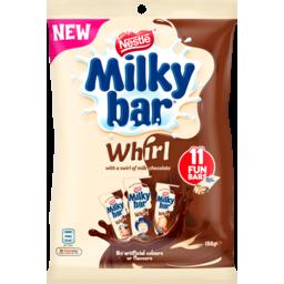 Photo of Nestle Milkybar Chocolate Whirl Fun Pack 158g