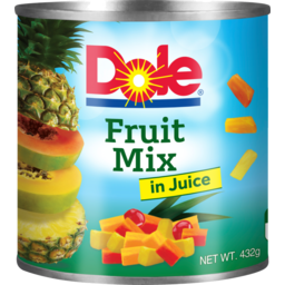 Photo of Dole Fruit Mix In Natural Juice 432g