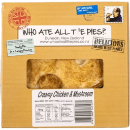 Photo of Who ate all the Pies Free Range Chicken Mushroom 825g