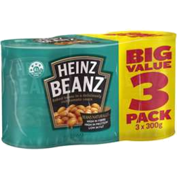 Photo of Heinz Baked Beans Tomato 3x300gm