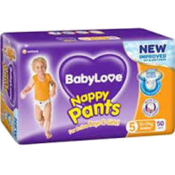 Photo of Babylove Nappy Pants Walker 12 -17 kg 50 Pack