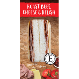 Photo of Everyday Cafe Roast Beef, Cheese & Relish Sandwich