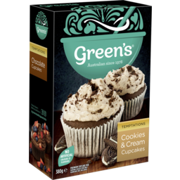 Photo of Green's Cookies & Cream Cupcakes Mix 380g