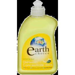 Photo of Earth Choice Dishwashing Concentrate Lemon & Basil 500ml