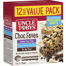 Photo of Uncle Toby Muesli Bar Chewy Choc Vp375gm
