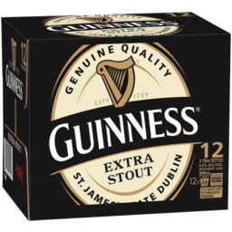 Photo of Guinness Extra Stout Bottles