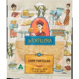 Photo of La Tortilleria Corn Tortillas (8 Pack)