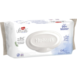 Photo of Huggies Ultimate Baby Wipes Over 99% Water 64 Pack