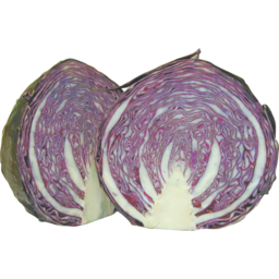 Photo of Cabbage Red Half