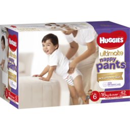 Photo of Huggies Nappy Pant Ult Sz6 42s