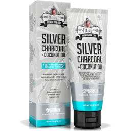 Photo of My Magic Mud Spearmint Silver-Charcoal Whitening Toothpaste