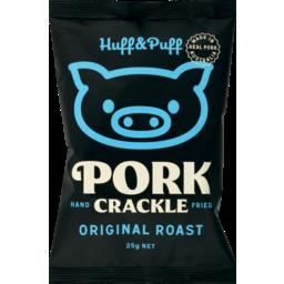 Photo of Huff & Puff Pork Crackle Original 25g