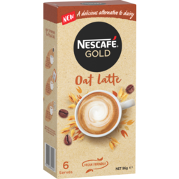 Photo of Nescafe Gold Coffee Mixes Oat Latte 6 Pack 96g