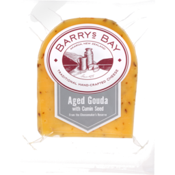 Photo of Barrys Bay Traditional Cheese Aged Cumin Gouda 125g