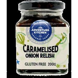 Photo of Adventure Kitchen Relish Caramelised Onion 200g