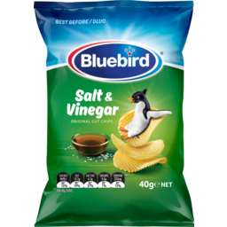 Photo of Bluebird Originals Potato Chips Salt & Vinegar 40g